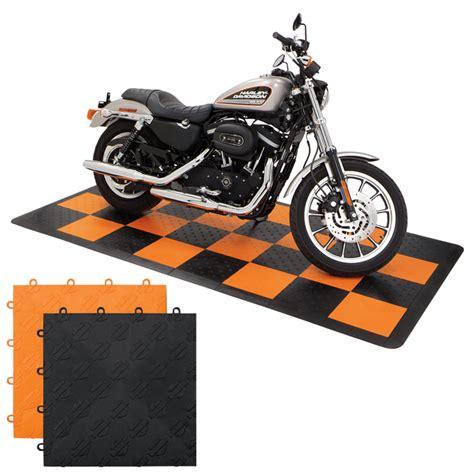 Harley Davidson Garage by Slhdkorblk Harley Davidson 174 Garage Flooring Kit 4 X 8