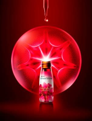 Innershine Ruby Collagen toast to with the new brand s rubycollagen essence