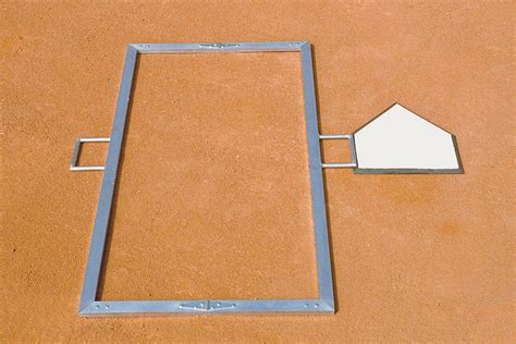 batters box template foldable batter s box template beacon athletics store