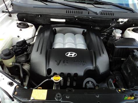 hayes car manuals 2003 hyundai santa fe engine control 2003 hyundai santa fe gls 4wd 2 7 liter dohc 24 valve v6 engine photo 45295593 gtcarlot com