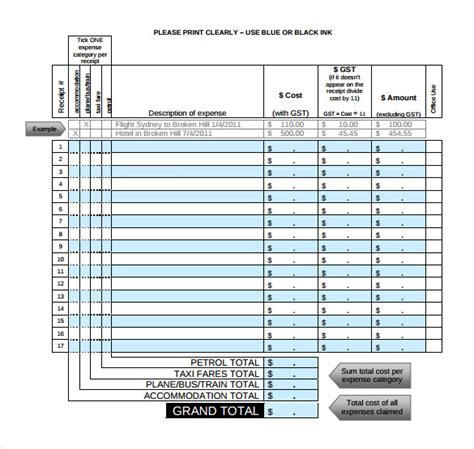 limo receipt template taxi receipt template 17 free for word pdf