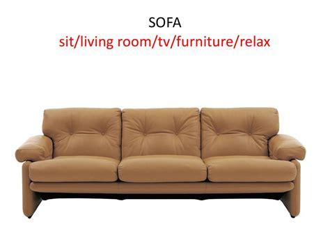 british word for couch english words презентация онлайн