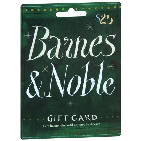 Barnes Noble Gift Cards - barnes noble 25 gift card walgreens