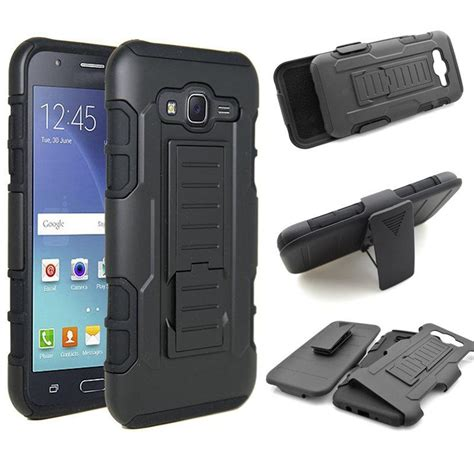 Future Armor Samsung J5 Prime Kick Stand Defender Belt Clip Model Ot for samsung j3 j5 j7 future armor hybrid phone cover galaxy j500f j700f j7 on5 on7