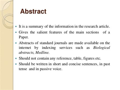 How To Make An Abstract For Research Paper - research paper assignment argumentative essay