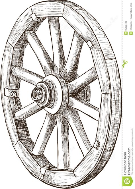 doodle 4 exles wheel stock photos image 35209493