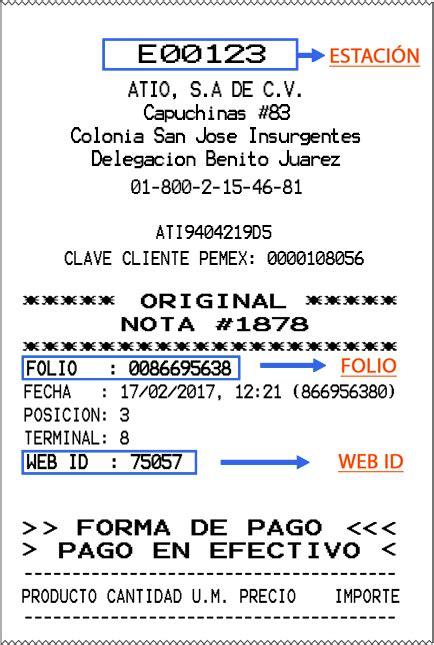 ejemplo de ticket de compra facturaci 243 n electr 243 nica