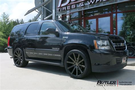 Chevrolet Wheels by Chevrolet Tahoe With 22in Dub Calla Wheels