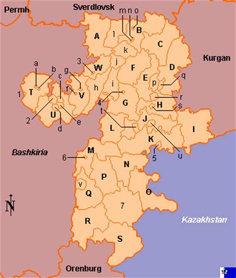 chelyabinsk map clickable map of chelyabinsk region russia