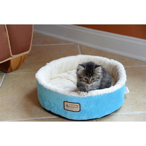 armarkat cat bed armarkat cat dog pet bed in blue jet com
