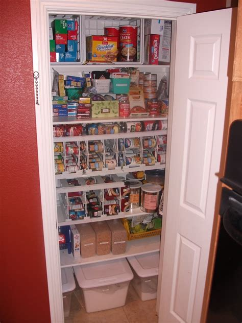 Small Pantry Closet by The Cook Organizing Your Food Storage