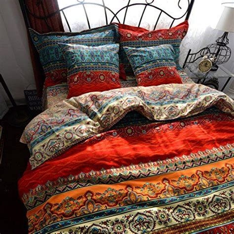 hippie bedding yoyomall 2015 new boho style duvet cover set colorful stripe sheet sets bohemia bedding set 4pcs
