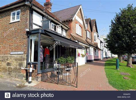 houses to buy in west sussex historic lindfield high street in west sussex stock photo