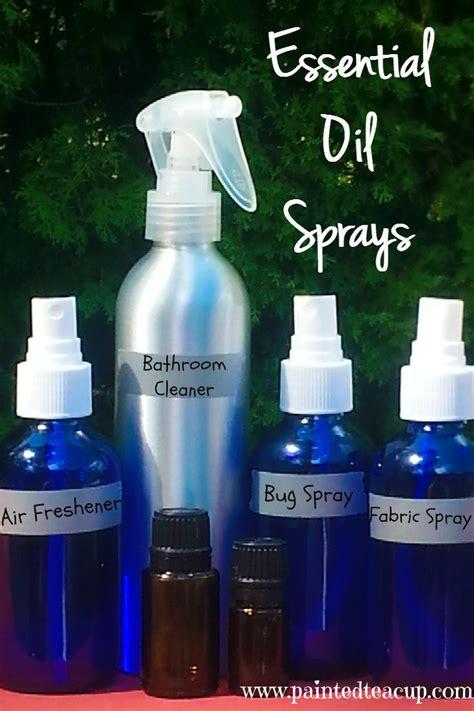 Homemade Air Freshener With Essential Oils Spray   Homemade Ftempo