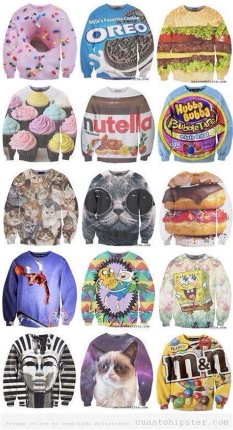 imagenes hipster de nutella sweater sweatshirt food hamburger cute nutella
