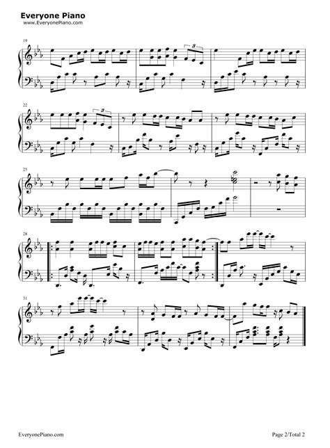 bts chords i need you bts stave preview 2 free piano sheet music