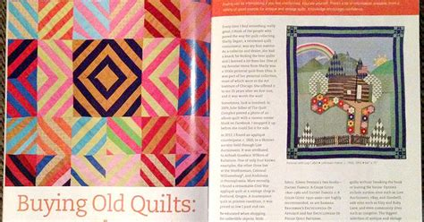 Modern Patchwork Magazine - wonkyworld modern patchwork article
