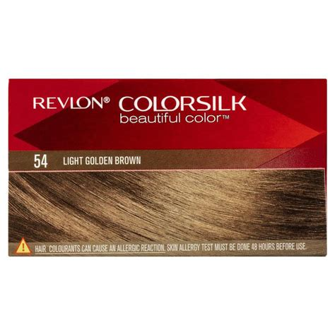 Revlon Colorsilk 54 Lgold Brown buy revlon colorsilk 54 light golden brown at