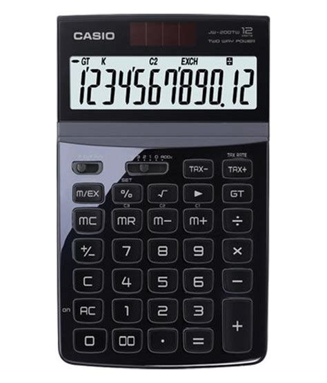 Calculator Joyko 12 Digits Standard Desktop Calculator casio compact desktop standard 12 digit calculator jw