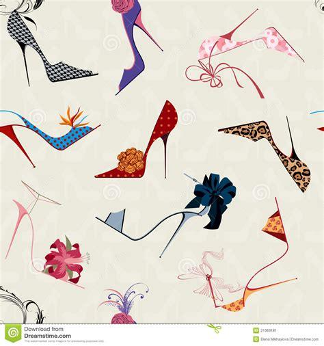 pattern for heels high heels seamless pattern stock image image 21363181