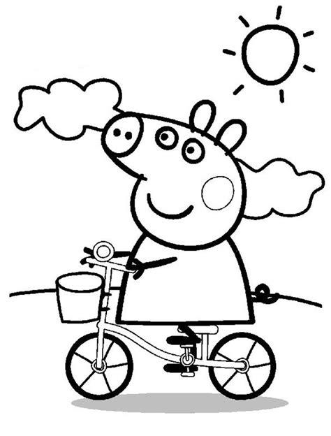 peppa pig dibujos para colorear peppa pig para colorear pintar e imprimir