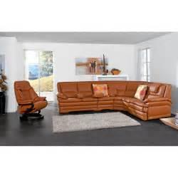 pora sofa rundecke mit lederbezug in braun porta