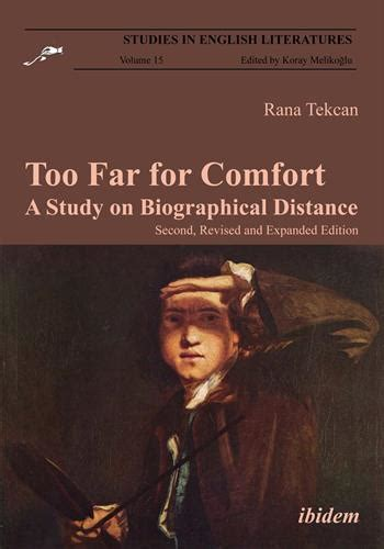 comfort study too far for comfort a study on biographical distance