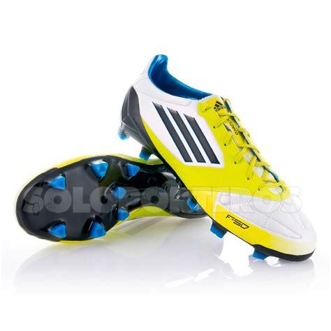 adidas f50 adizero boot adidas f50 adizero trx fg piel white lime