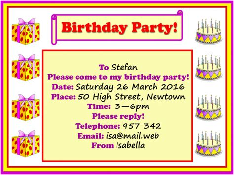 Come Paw Ty With Me Birthday Invites by Birthday Invitation Learnenglish