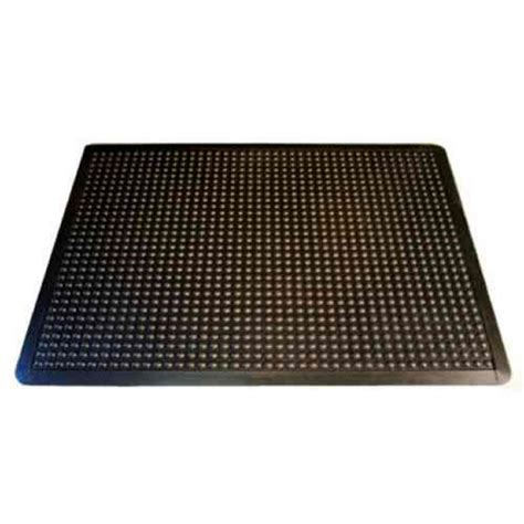 notrax pebble trax black 24 in x 36 in rubber top pvc