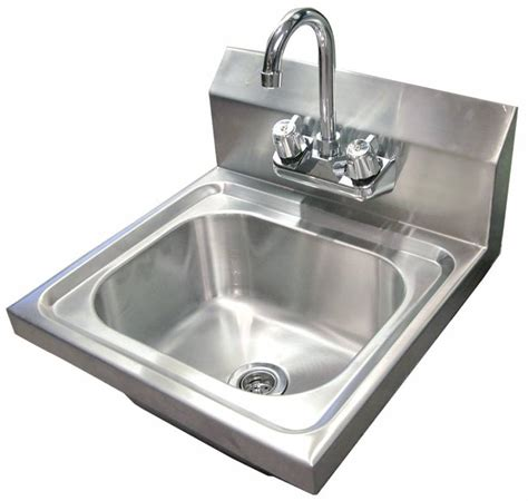 Wall Mounted Hand Sink with Faucet   Hand Sinks, Hand Sink Pedestals, & Hand Sink Accessories