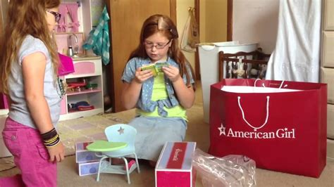 american doll desk set american doll desk set youtube