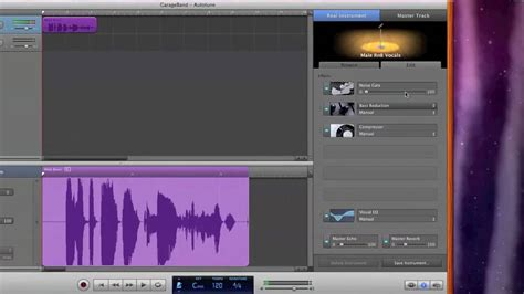 Garageband Tuner Garageband How To Auto Tune Sound Professional