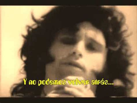 canciones traducidas the doors i looked at you
