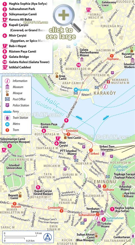 printable map of istanbul turkey istanbul maps top tourist attractions free printable