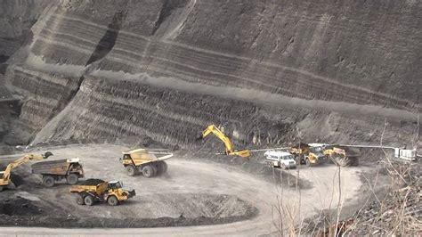 coal pit open pit coal mine