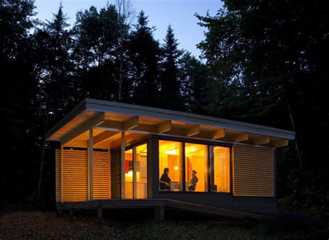 contemporary cabin plans modern cabin in canada national parks house design and decor