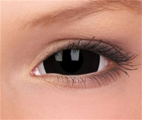 all black colored contacts sclera contact lenses novelty colored black