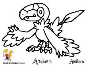 pokemon black and white legendaries free coloring pages
