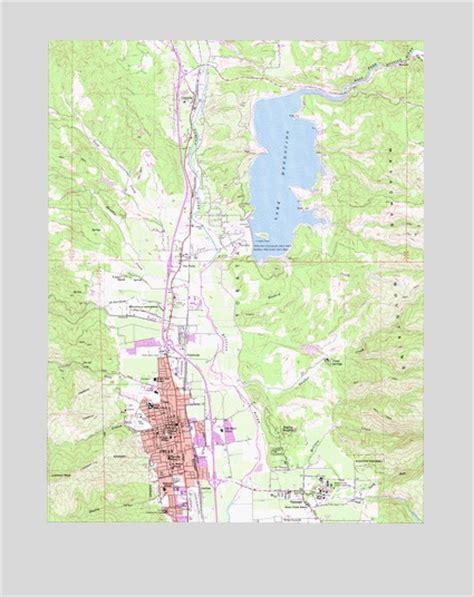 map ukiah california ukiah ca topographic map topoquest
