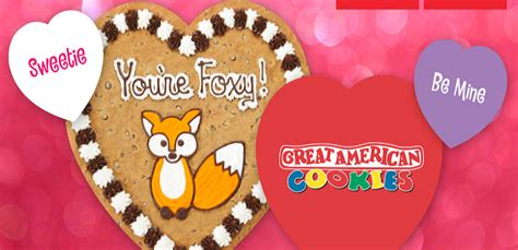 great american cookie valentines great american cookies valentine s for sweepstakes