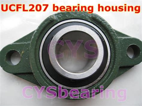 Insert Bearing For Pillow Block Uc 207 35mm Snr aliexpress buy 35mm shaft mounted ucfl207 flange