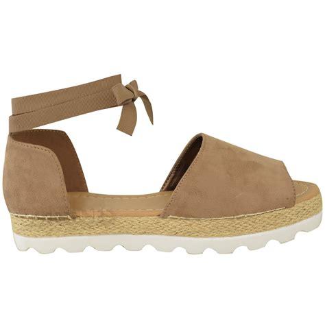 espadrilles shoes womens flat lace up sandals espadrilles summer