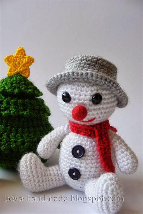 patterns christmas snowman 17 best images about crochet snowmen on pinterest free
