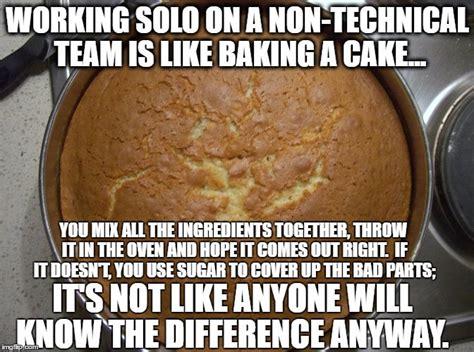 Baking Meme - 22 useful software development analogies meme version