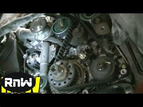 Water Mitsubishi Kuda 1 6 how to remove and replace the timing belt and water