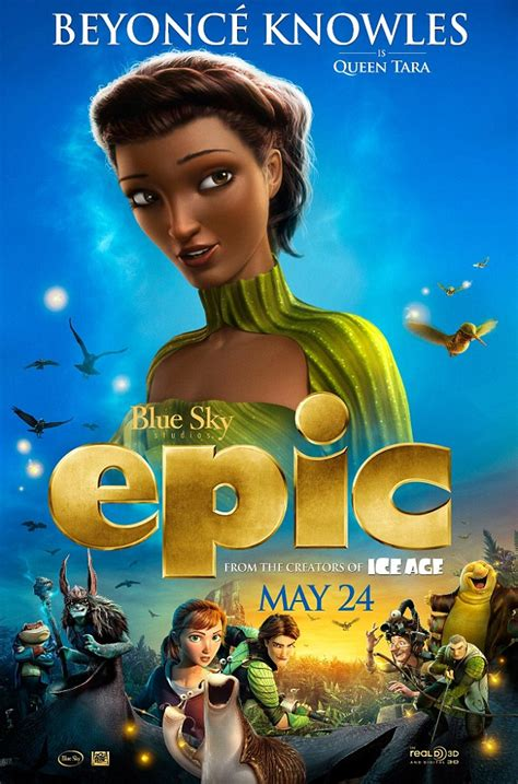 epic film pictures first look at beyonce s queen tara in new animated film