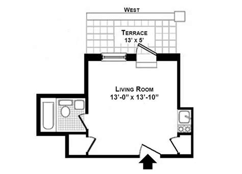 how large is 130 square feet buy this 180 sq ft park ave penthouse for just 125k
