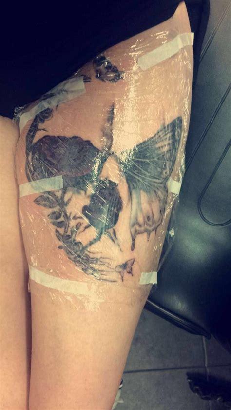 half skull half rose tattoo best 25 skull butterfly ideas on skull