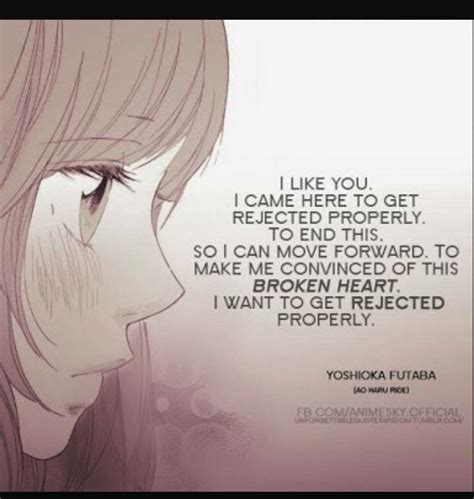 anime quotes about love unrequited love quotes anime google search random